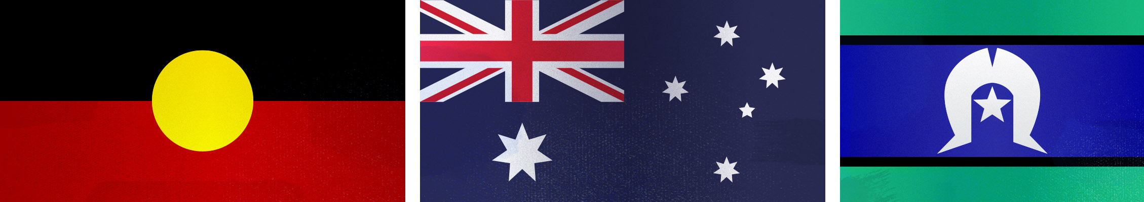 Aboriginal, Australian, and Torres Strait Islander flags